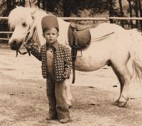 Sabine Noack mit 2 1/2 Jahren